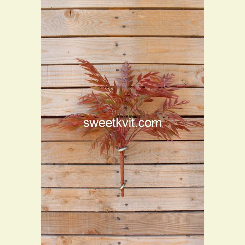 Искусственная пальмовая трава куст, 44 см