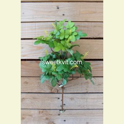 Искусственный дуб ветка, 36 см