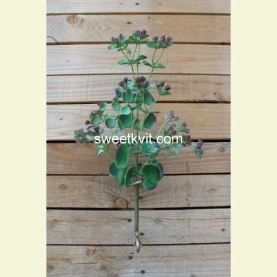 Искусственное каланхоэ ветка, 38 см